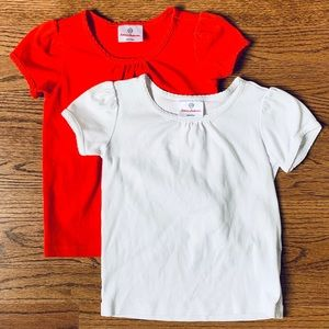 Red & White Shirts